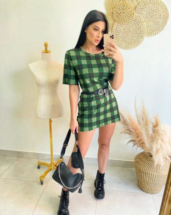 jjoficial com br vestido curto xadrez 2