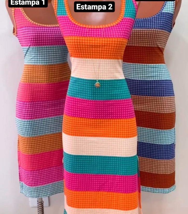 jjoficial com br vestido pied poule colorido